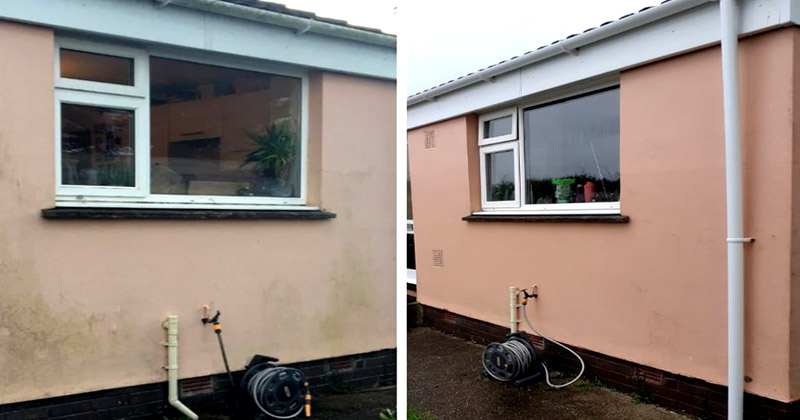 Render cleaning in Barnstaple